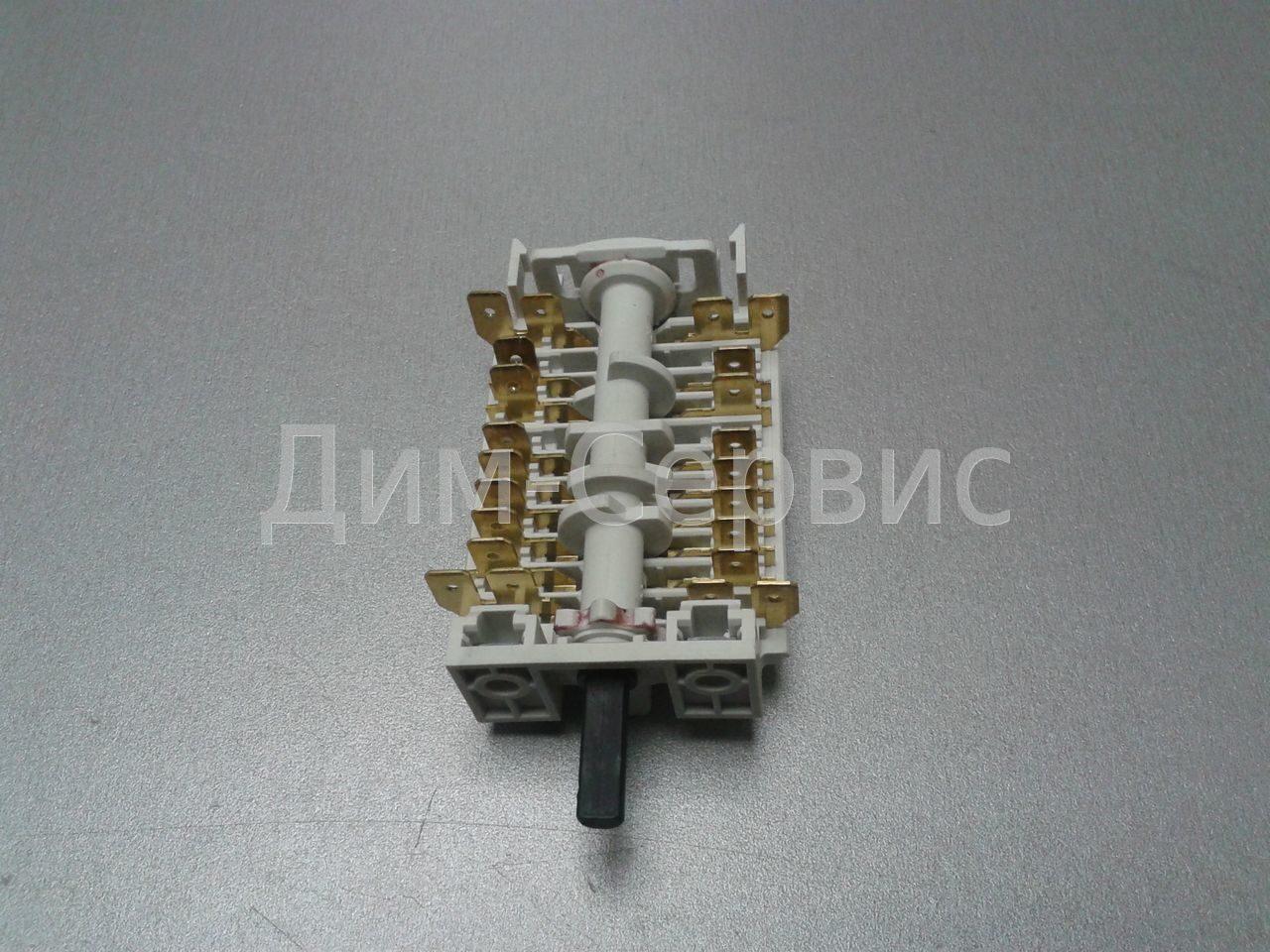 электрическая схема электроплиты ханса